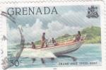 Sellos del Mundo : America : Granada : GRAND ANSE SPEED BOAT