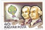 de Europa - Hungría -  HERMANOS MONTGOLFIER