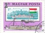 de Europa - Hungría -  BARCO FLUVIAL