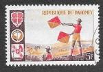 Stamps Benin -  222 - Boy Scout Señalizando (DAHOMEY)