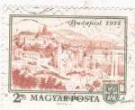 Stamps Hungary -  BUDAPEST 1972