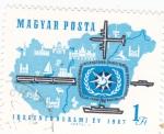 de Europa - Hungría -  AÑO INTERNACIONAL DEL TURÍSMO
