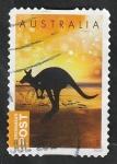 de Oceania - Australia -  Canguro