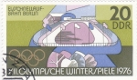 Stamps : Europe : Germany :  OLIMPIADA WINTERS PIELE