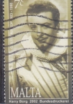 Stamps : Europe : Malta :  HARRY BORG