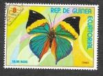 Stamps Equatorial Guinea -  Yt104E - Mariposa