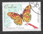 de America - Cuba -  3645 - Mariposa