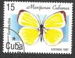 de America - Cuba -  3828 - Mariposa