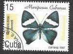 Sellos del Mundo : America : Cuba : 3829 - Mariposa