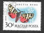 Sellos del Mundo : Europa : Hungría : 1269 - Mariposa