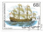Stamps Morocco -  barcos