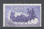 Stamps : Europe : Spain :  1255 Tauromaquia.Toros en el campo.