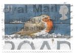 Stamps Europe - United Kingdom -  petirrojo