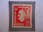 Stamps Europe - Norway -  King Haakon VII