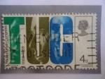 Stamps Europe - United Kingdom -  TUC - Serie:Confederación Nacional de los Sindicatos en el Reino Unido 1868-1968.