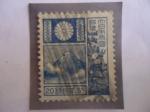 Stamps Asia - Japan -  Monte Fuji - Volcán Fuji- Ciervos-