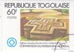 Stamps Africa - Togo -  CONVENCION DEL PATRIMONIO MUNDIAL