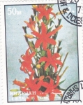 Stamps : Asia : United_Arab_Emirates :  FLORES
