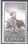 Stamps : Europe : Spain :  1258 Tauromaquia.Farol.