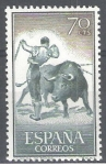 Stamps : Europe : Spain :  1259 Tauromaquia.Banderillas.
