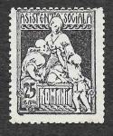 Stamps Romania -  RA14 - Caridad