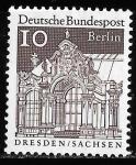 Sellos del Mundo : Europa : Alemania : Alemania Berlin-cambio