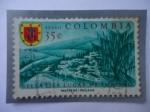 de America - Colombia -  Escudo de Arma - Vista de San Gil-