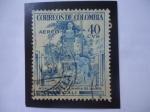 de America - Colombia -  Monumento a la Maria-Cali- Del Escritor:Jorge Ricardo Isaac Ferrer (1837-1895) -Novelista, Poeta,esc