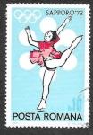 de Europa - Rumania -  2294 - JJOO Sapporo´72
