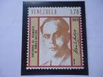 Stamps Venezuela -  Rómulo Gallegos (1884-1969) Centenario del Nacimiento del Presidente Gallegos - Su Firma.