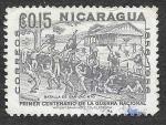 de America - Nicaragua -  775 - Centenario de la Guerra Nacional