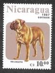 Stamps : America : Nicaragua :  1633 - Perro