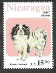 Stamps : America : Nicaragua :  1634 - Perro