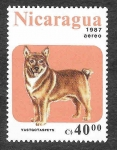 Sellos de America - Nicaragua -  1638 - Perro