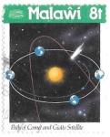 sello : Africa : Malawi : astronomia