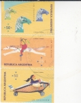 Stamps : America : Argentina :  JUEGOS INFANTILES