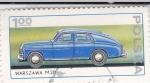 Stamps Poland -  COCHE DE EPOCA