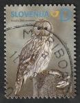 Sellos del Mundo : Europa : Eslovenia : 886 - Búho, Strix uralensis