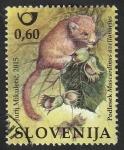 Sellos del Mundo : Europa : Eslovenia : 973 - Lirón enano, Muscardinus avellanarius