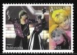 Sellos del Mundo : Europa : Noruega : 1666 - Representante en Eurovisión, Duo Bobbysocks y Elisabeth Andreassen