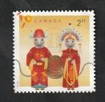 Stamps America - Canada -  Año de la Rata