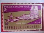 de Asia - Indonesia -  Monumento a los Héroes de la Revolución - Lubang Buaja-1 Oct.1965