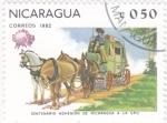 de America - Nicaragua -  CENTENARIO ADHESIÓN U.P.U.
