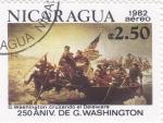 de America - Nicaragua -  250 ANIV.DE G.WASHINGTON