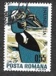 Sellos de Europa - Rumania -  2206 - Víctimas de las Inundaciones del Danubio