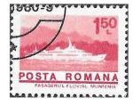 Stamps : Europe : Romania :  2462 -  Buque de Pasajeros Muntenia