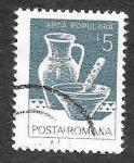 Stamps : Europe : Romania :  3109 - Arte Popular