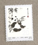 Stamps Asia - China -  Oso panda
