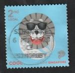 Sellos del Mundo : Asia : Singapur : 2233 - Merlion, icono nacional