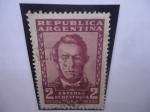Sellos de America - Argentina -  Esteban Echeverría (1805-18519)